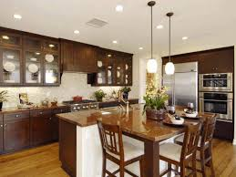 Drop Lights For Kitchen Island by Kitchen Design Ideas With Islands Maple Varnished Cabinet 3 Tier