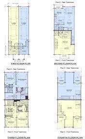 floorplanscandd tandem garage plans on 2 car house plans2