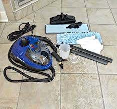 clean tile floors easily without chemicals or scrubbing