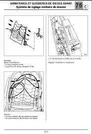 dehousser siege auto laguna ii réparation système réglagle des lombaires p0 planète