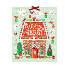 christmas advent calendar a sweet christmas advent calendar galison
