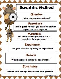 teacher u0027s take out scientific method freebie