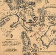 Tennesse Map Battlefield In Front Of Franklin Tennessee Civil War Trust
