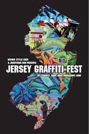Jersey Shore Map Events Jerseygraf Com New Jersey Graffiti Art