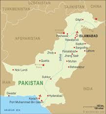 sukkur map pakistan map pakistan travel maps from word travels