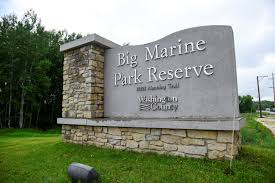 Minnesota Zip Code Map by Big Marine Park Reserve Washington County Mn Official Website