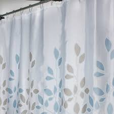 Gray Shower Curtains Fabric Curtain White Shower Curtain Fabric Modern Fabric Shower Curtain
