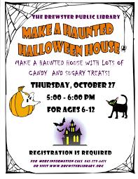 make a haunted halloween houses