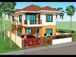 2 Storey House Simple House Plan Design 2 Storey House Youtube