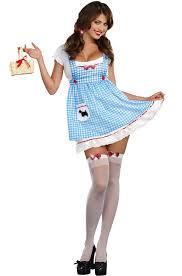 Wizard Oz Halloween Costumes Adults Heel Clickin Cutie Dorothy Wizard Oz Women Costume Ebay