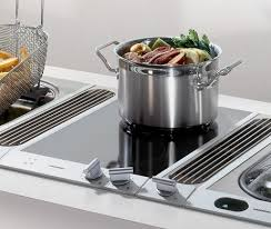 Electric Cooktop With Downdraft Exhaust Induction Cooktop With Downdraft Vent 30 Black Gas Cooktops