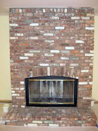 Fireplace Brick Stain by Brick Fireplace Remodel Exact Match Masonry Staining