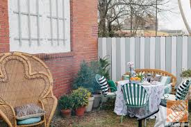 Shade Tree For Small Backyard - a charming courtyard small backyard ideas by hannah