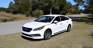 hd road test review 2016 hyundai sonata sport 2 0t drive video