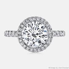 circle engagement ring jean dousset diamonds engagement ring