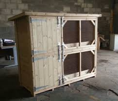 Rabbit Hutches And Runs Double Rabbit Hutch From Boyle U0027s Pet Housing