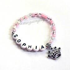 infant name bracelet party favors personalized jewelry name bracelets by stargazinglily