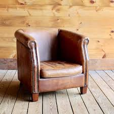 mid century chair leather mid century chair pleasant leather barrel chair u2013 laluz