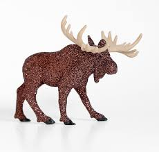 woodland glitter moose fall wedding table decoration rustic or