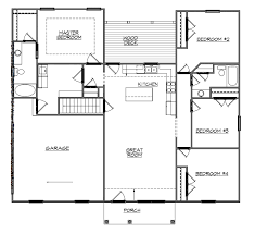 3 Bedroom House With Basement Lofty Ideas House Floor Plans With Basement Contemporary