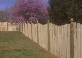 residential wood picket fences