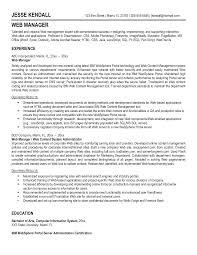 sample java developer resume awesome web manager and developer resume template sample featuring awesome web manager and developer resume template sample featuring experience and education