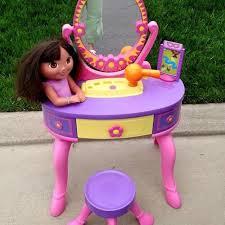 Vanity Playset Find More Dora Vanity Set For Sale At Up To 90 Off Ashburn Va