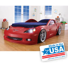 blue corvette bed buy 2 blue corvette toddler or bed with lights with