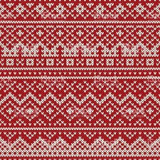 christmas patterns christmas sweater design seamless knitted pattern stock