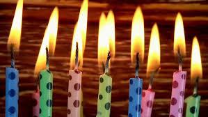 timelapse time lapse of hanukkah candles burning on hanukkah