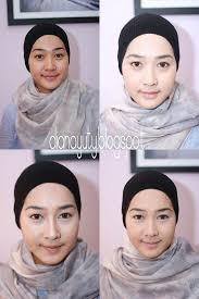 review tutorial make up natural wardah crimson rouge makeup tutorial step by step