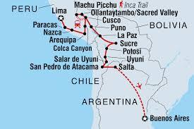 Peru On Map Peru Tours U0026 Travel Intrepid Travel Us