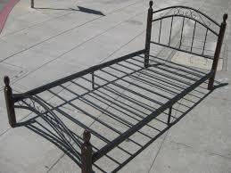 white twin bed frame metal popular twin metal bed frame u2013 modern
