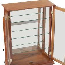 Curio Cabinets Walmart Curio Cabinet Excellent Wall Mount Curio Cabinet Photos Concept
