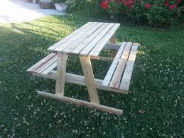 Kids Wooden Picnic Table Best 25 Kids Wooden Picnic Table Ideas On Pinterest Picnic