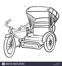 tricycle stock vector images alamy