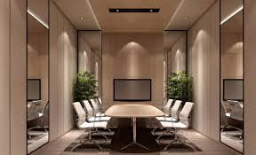 image for interior design of small meeting room office office
