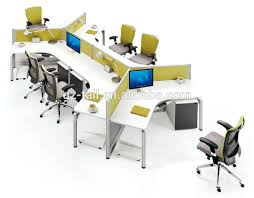Modular Office Furniture Office Workstation For 6 Person Office Workstation For 6 Person