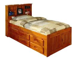 twin captains bed with bookcase headboard captains bed bookcase headboard discovery world furniture honey twin