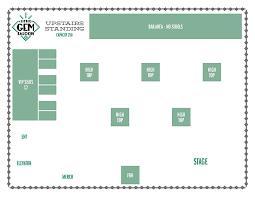 the little gem saloon u2013 private event floor plans