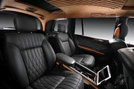 mercedes benz gl by vilner studio 2012 interior design