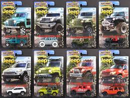matchbox jeep 2016 2016 matchbox jeep anniversary edition 8 car complete set willys