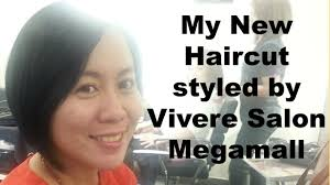 review of my bob cut hair style review of vivere hair salon in