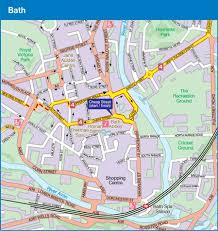 map uk bath ncn bath to bournemouth cycle route map route 24 25