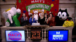23 november 2011 macy s thanksgiving day parade is here rings the