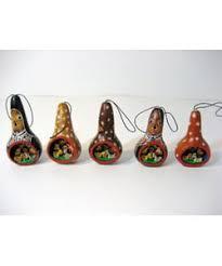 peruvian ornaments gourd nativity set peru free