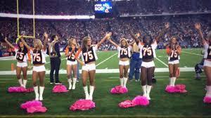 New England Patriots Newborn Clothes Nfl Cheerleaders Wear Jersey Of Player With Cancer Stricken