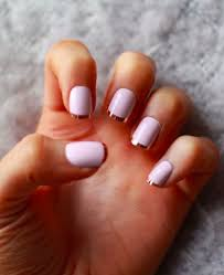 70 ideas of french manicure white polish metallic gold and manicure