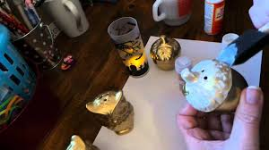 dollar tree craft owls u0026 acorns salt u0026 pepper shakers youtube