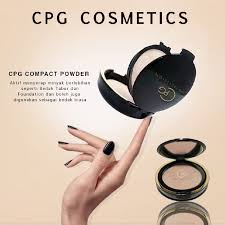 Bedak Cpg cpg cover two way cake compact powder oleh cpg cosmetics